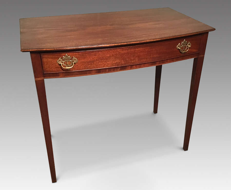 Bowfront Sidetable