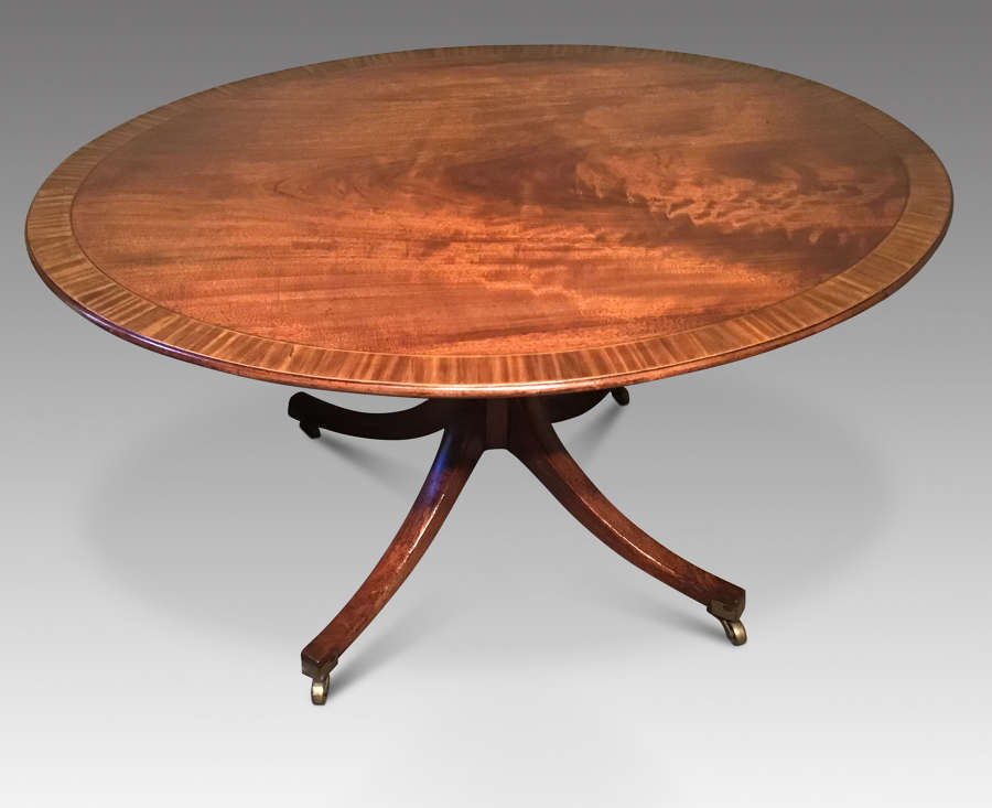 Oval Breakfast Table