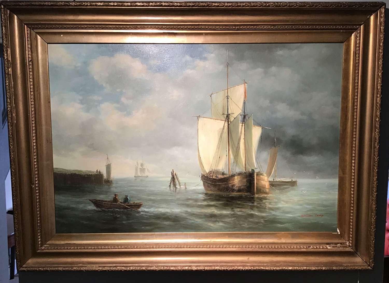 Marine oil on canvas