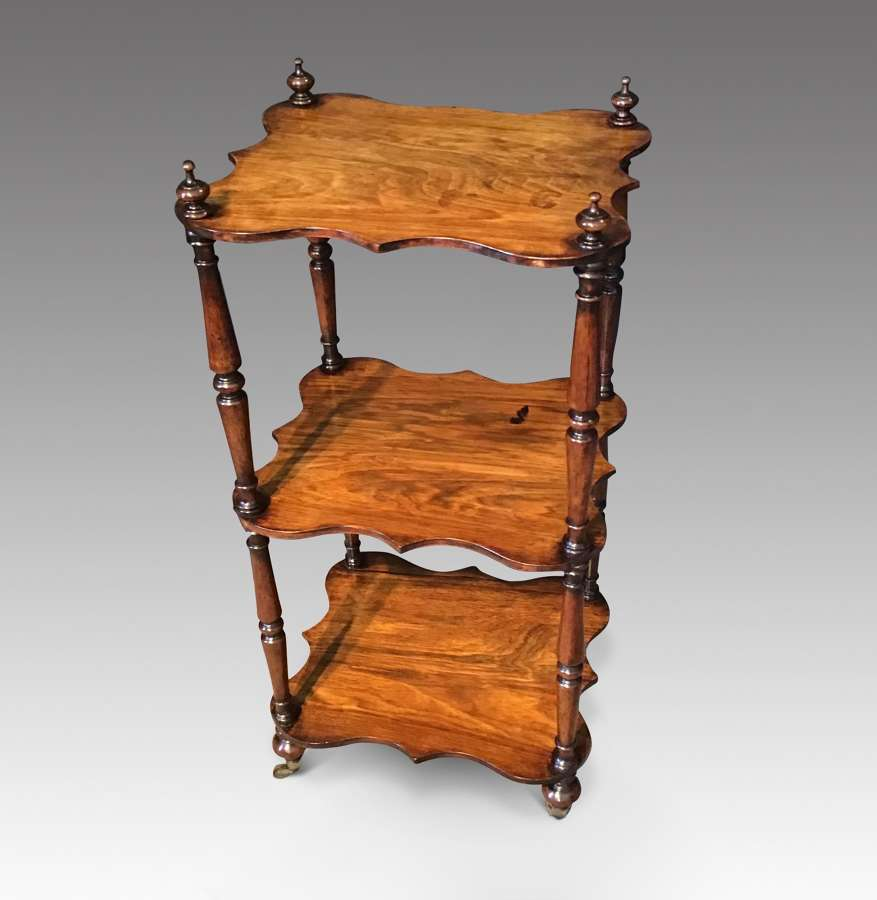 Rosewood Etagere.