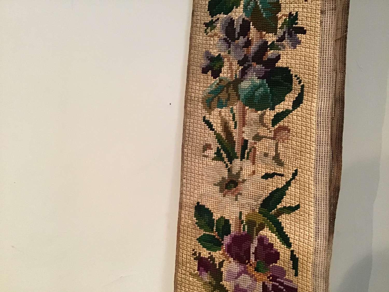 Antique needlework edge