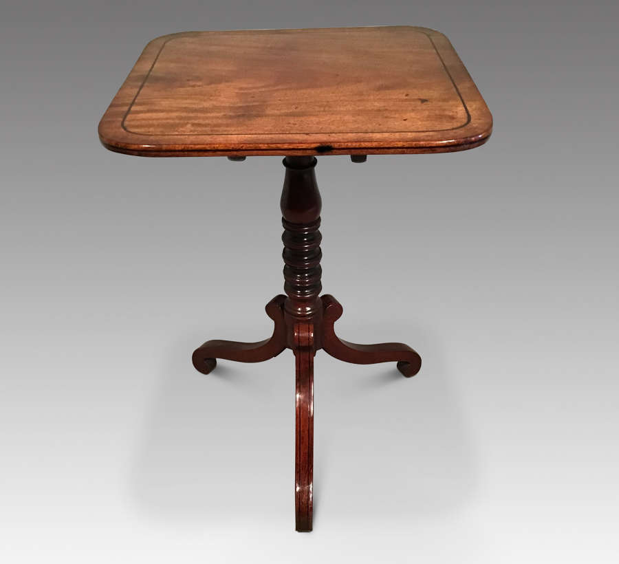 Regency tripod table
