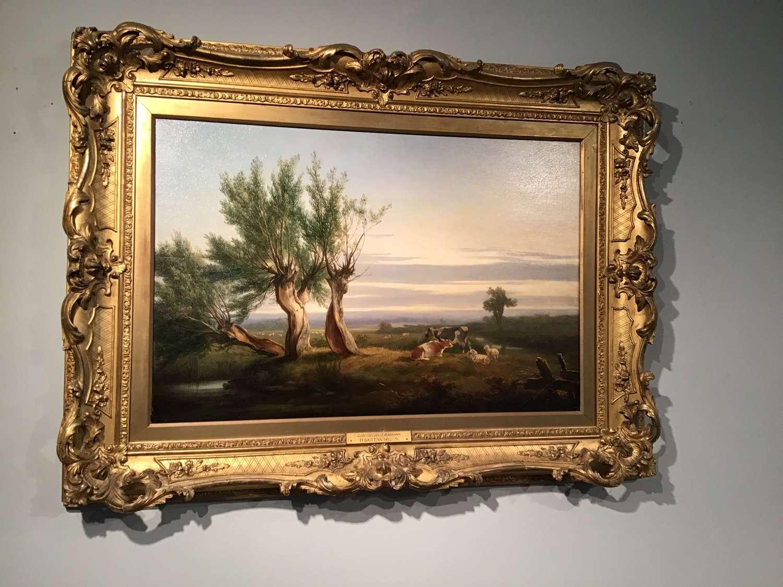 Victorian oil on panel . H Brittan Willis.