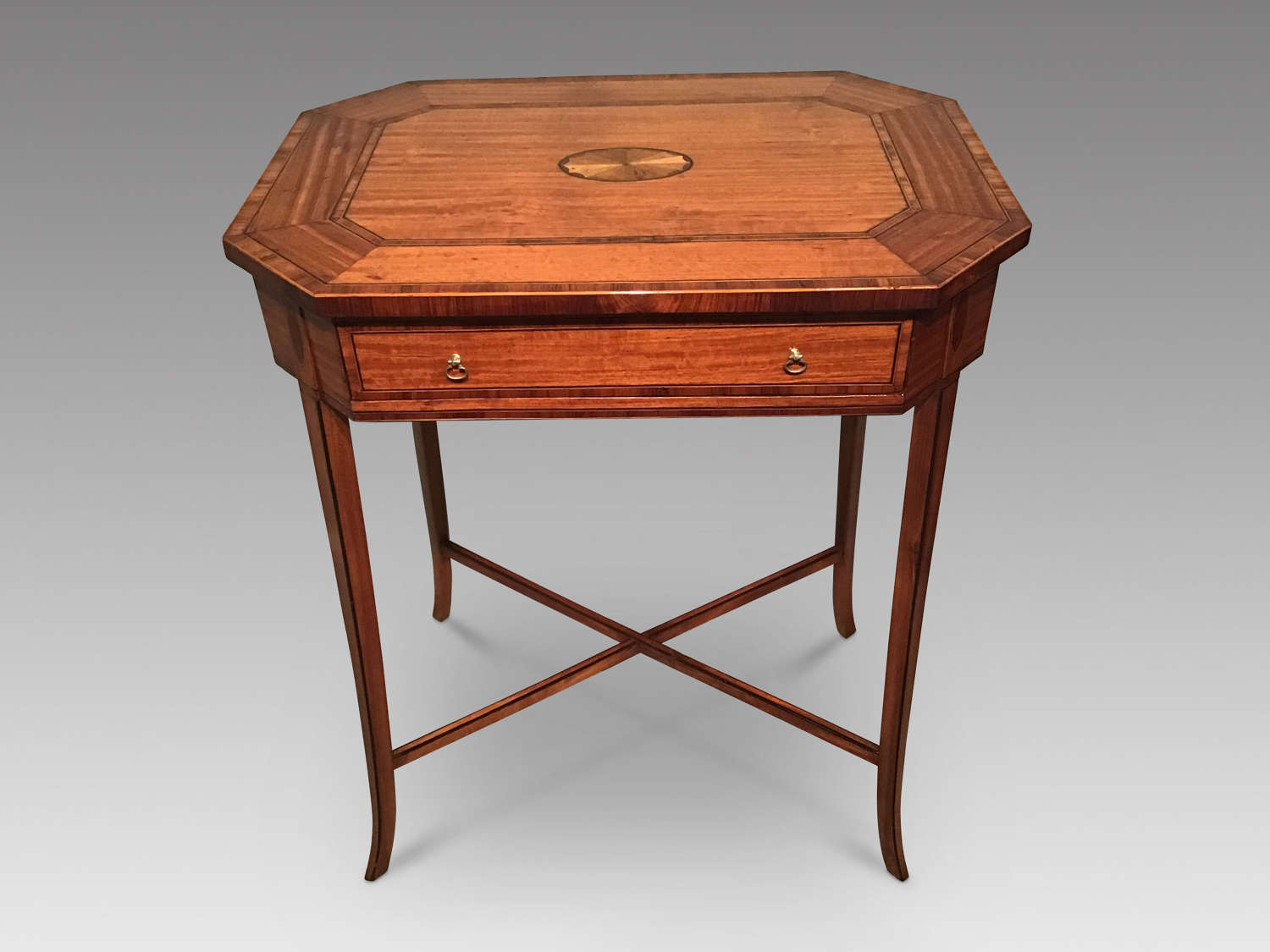 Antique satinwood table