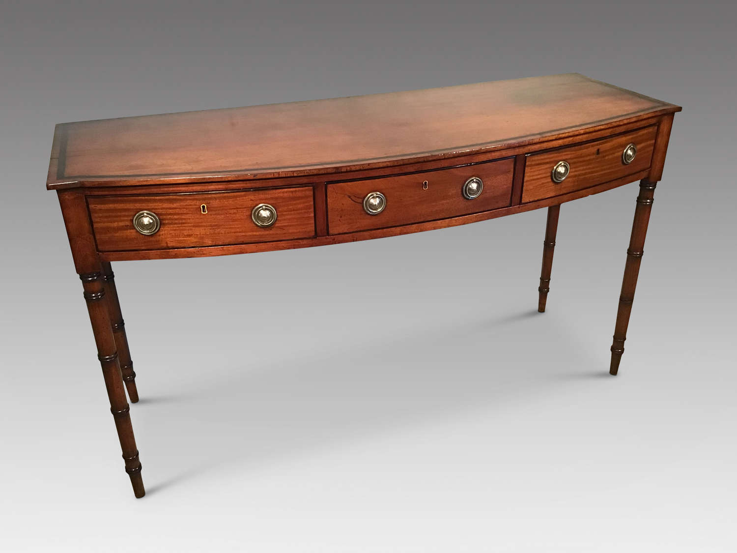 Antique mahogany serving table