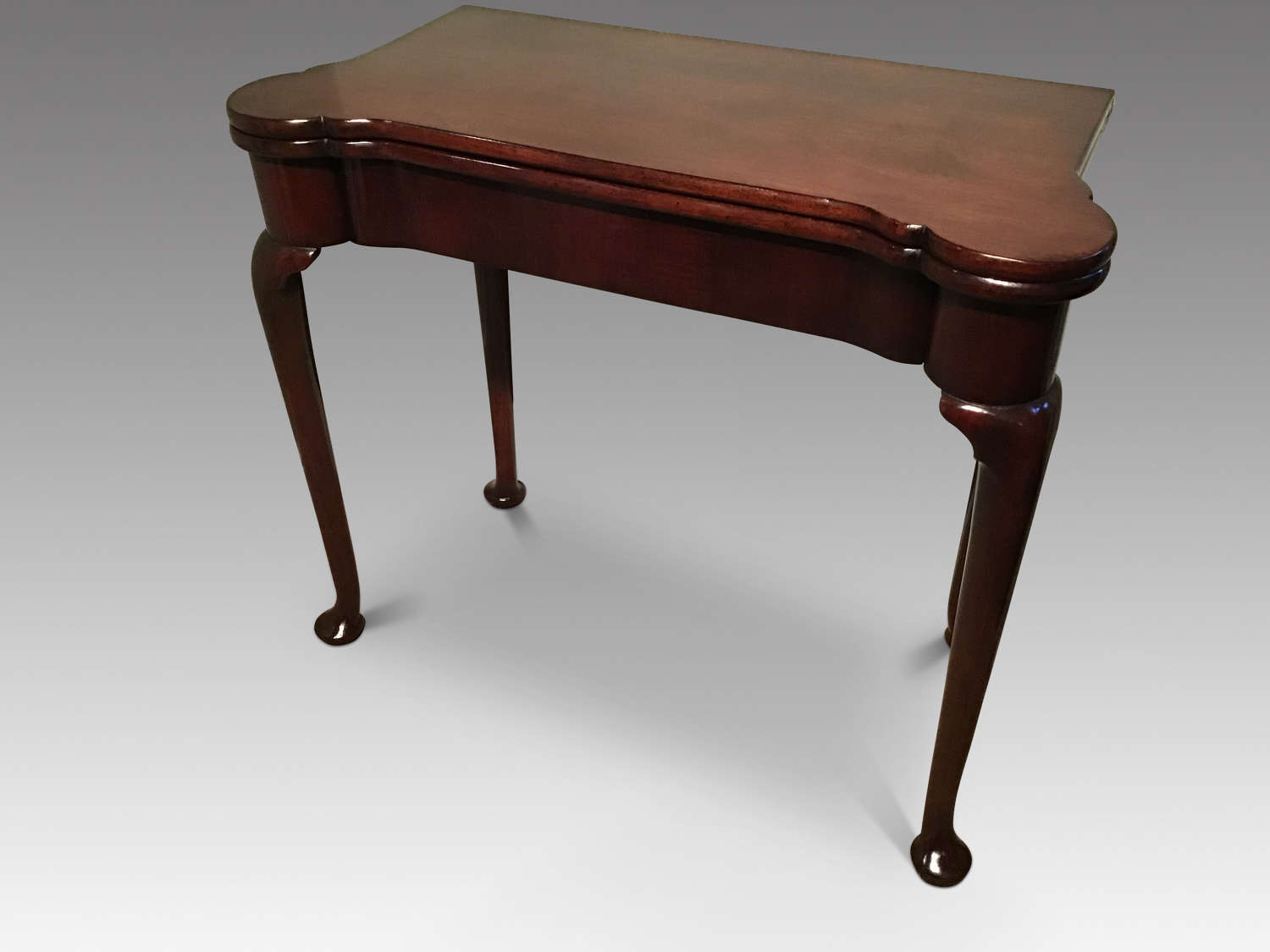 Antique Georgian card table