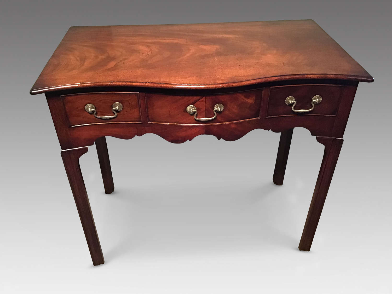 Georgian mahogany sidetable