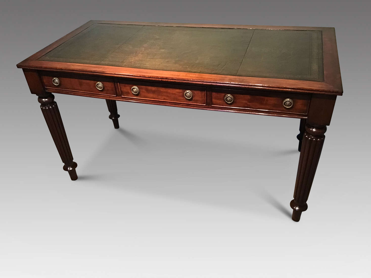 Antique mahogany writing table