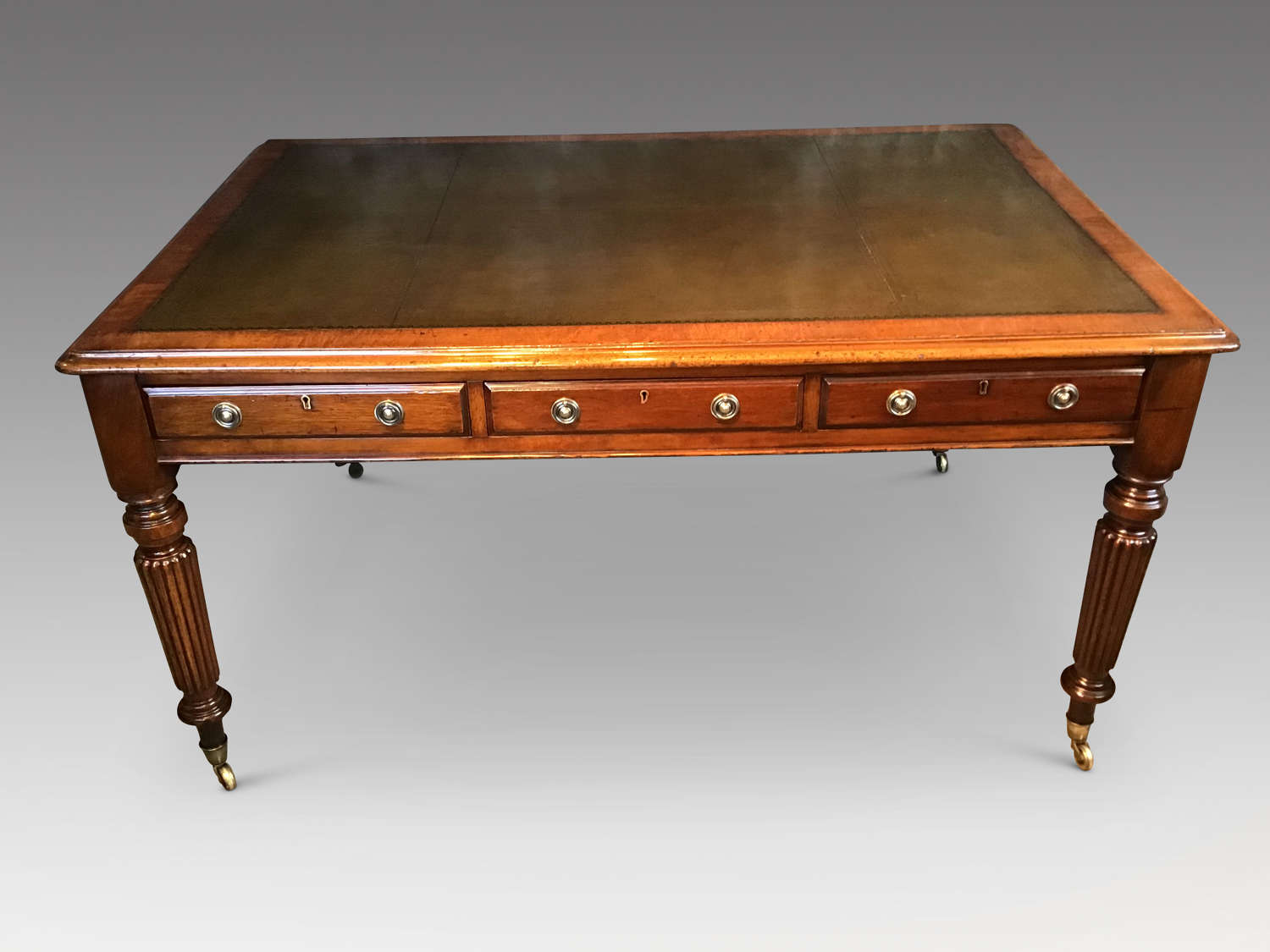 19th century partners writing table