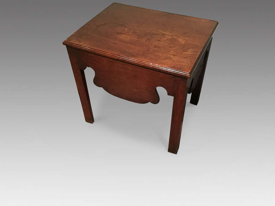 Georgian close stool