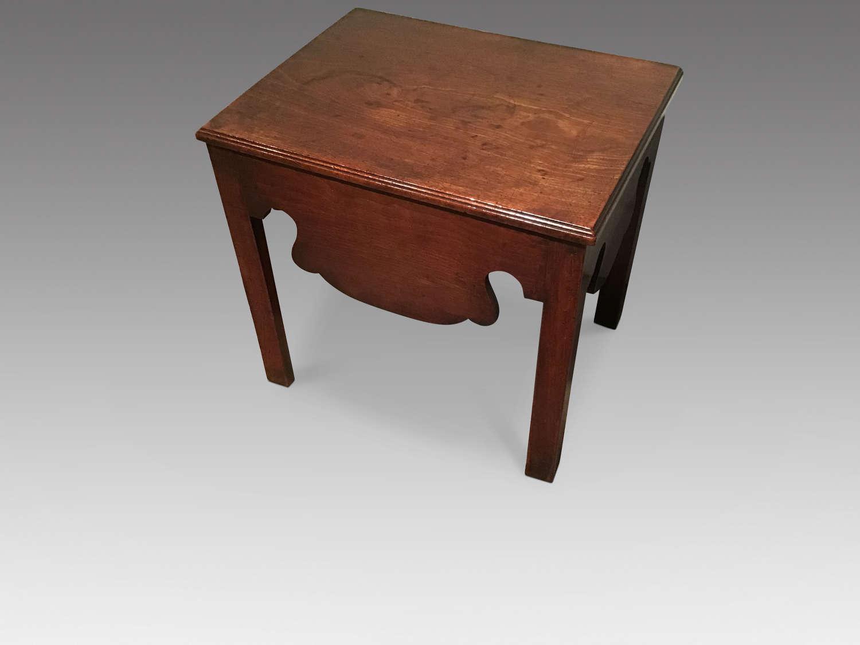 Georgian close stool