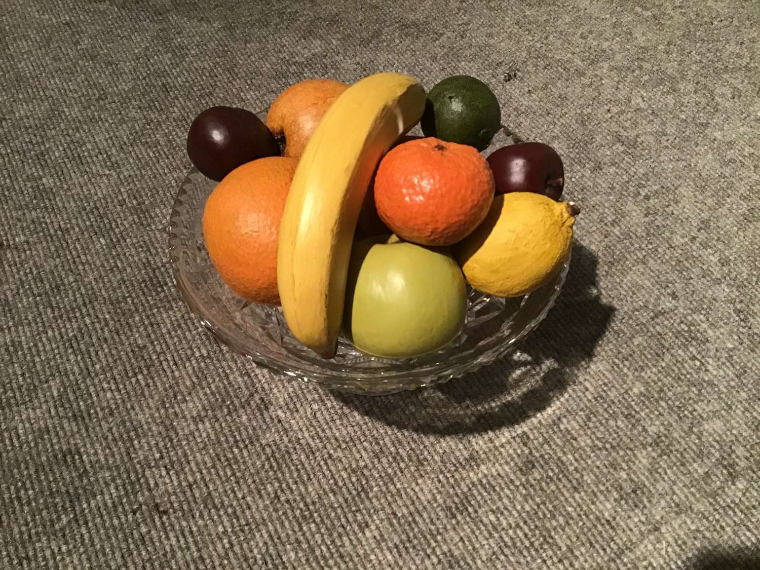 Pottery artificial fruit