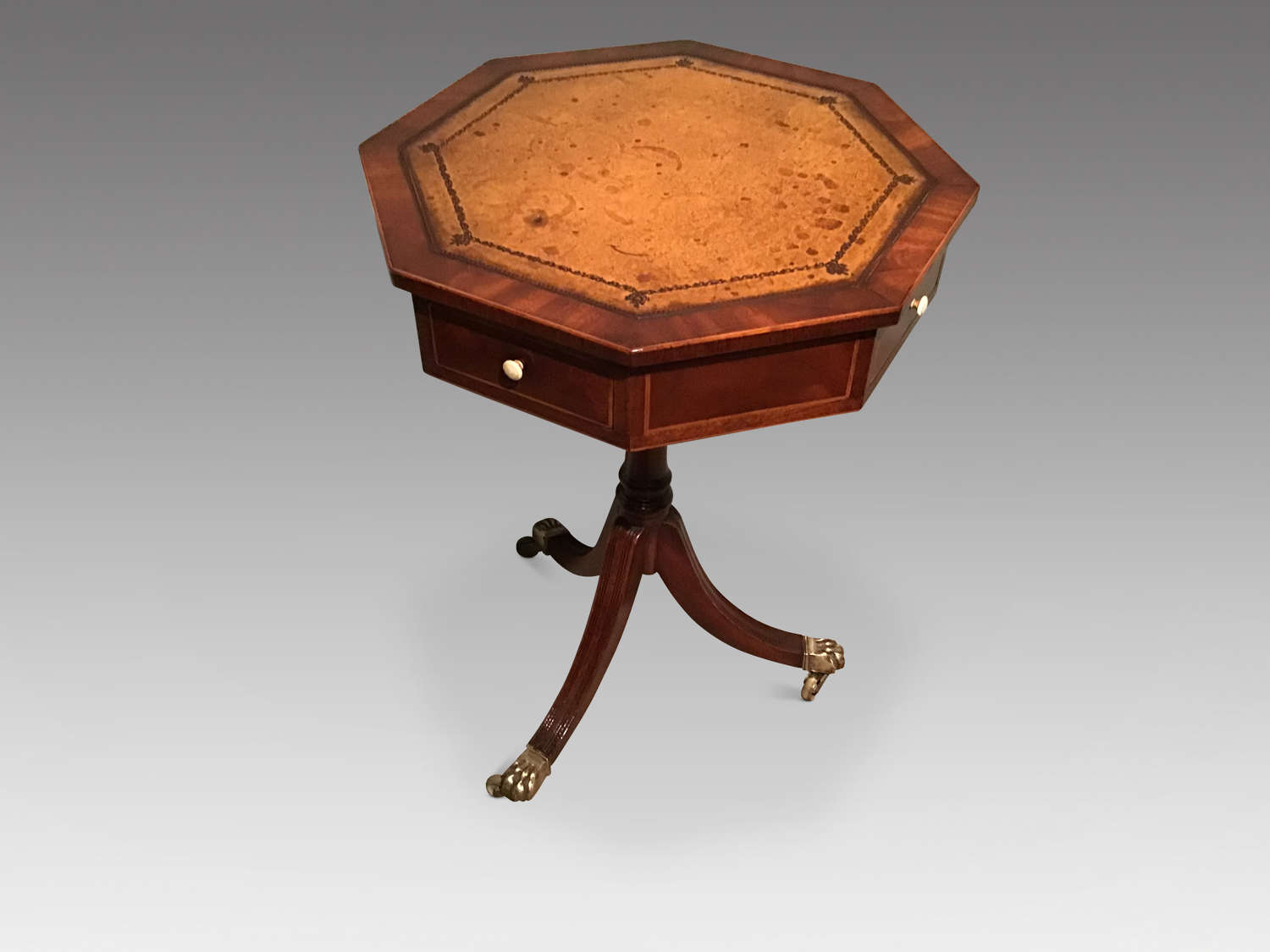 Antique mahogany occasional table