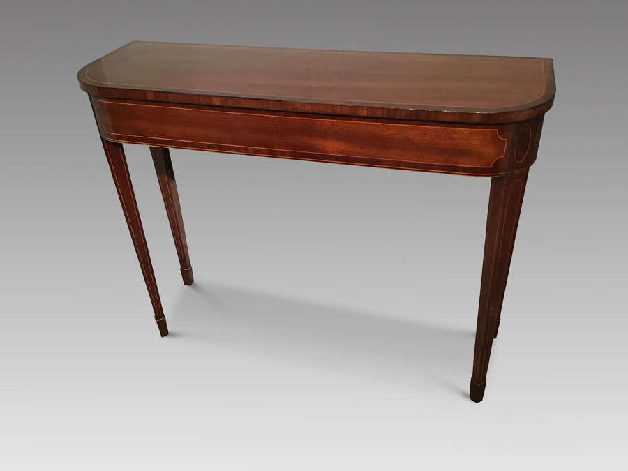 Antique mahogany hall table