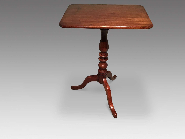 Antique mahogany tripod table