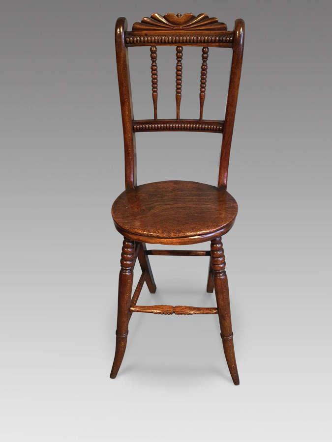 Antique correction chair