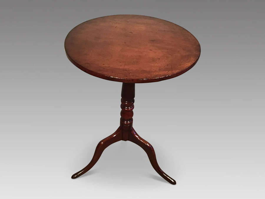 Antique mahogany tripod table