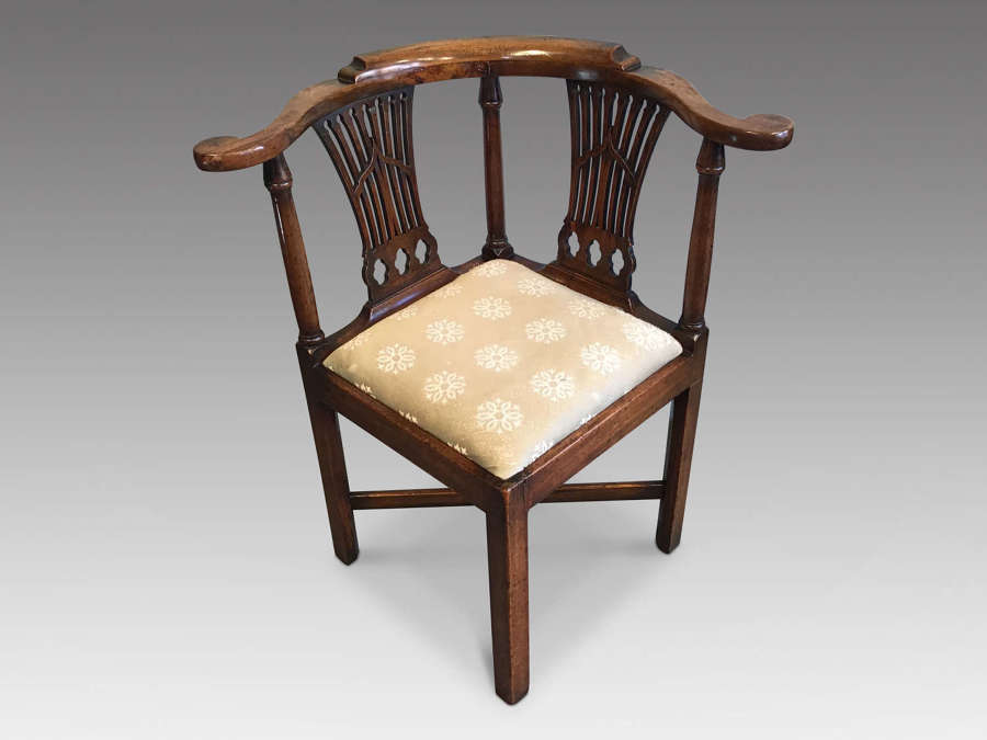 Antique Georgian corner chair