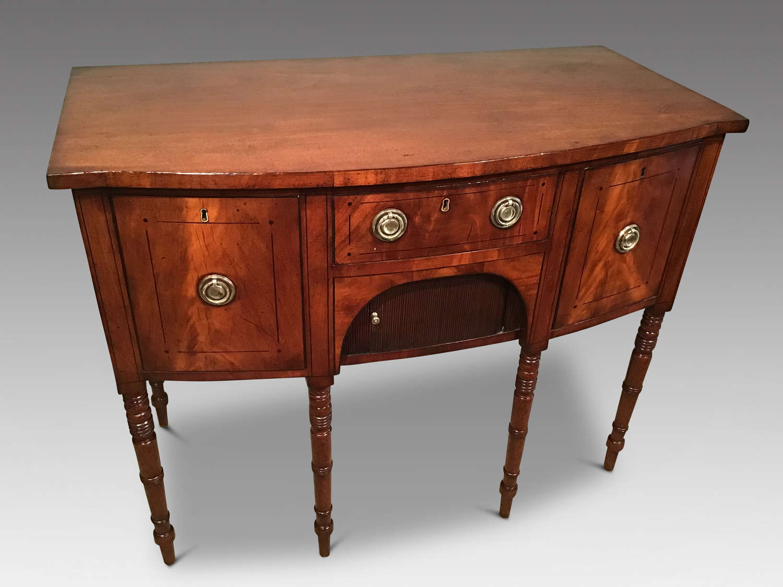 Regency mahogany sideboard