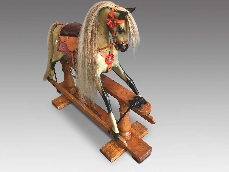 Antique Ayers rocking horse