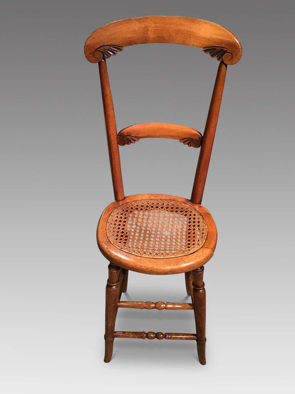 Antique correction chair