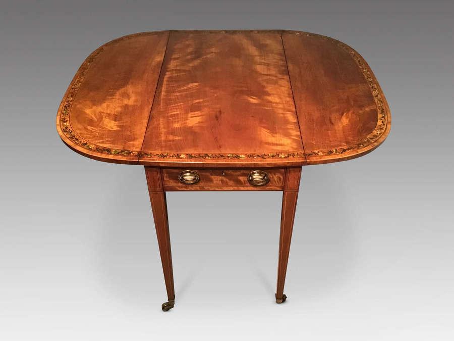 Georgian sabicu Pembroke table