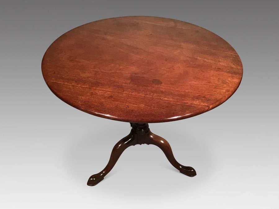 Georgian mahogany tripod table